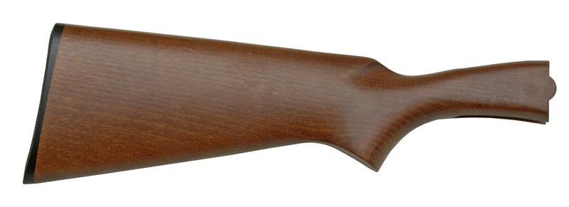 Stock, Plain Hardwood w/ Low Luster Walnut Stain, W/ Buttplate (2-3/4