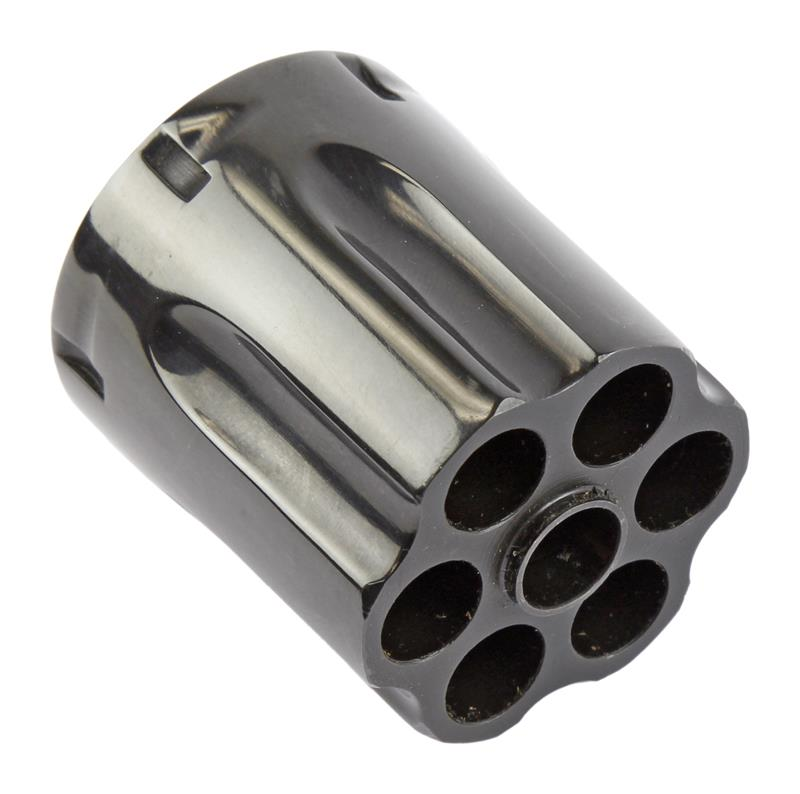Cylinder, .38 Spec, 6 Shot, Blued. New (Includes Extractor w/LH Female Threads)