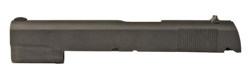 Slide, .45, Stripped, Unmarked-Uses Barrel Bushing, Blued w/Sights