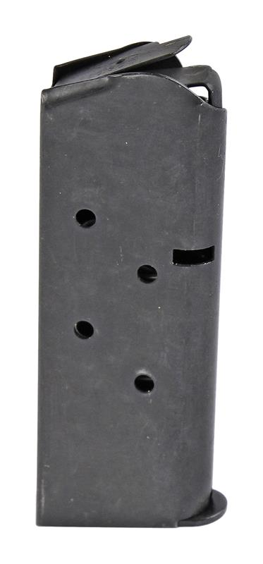 Magazine, .45 ACP, 6 Round, Blued, New (Flat Floorplate; Checkmate Mfg)