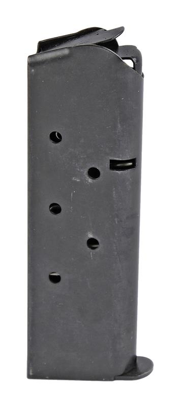 Magazine, .45 ACP, 7 Round, Blued, New (Full-Size; Flat Floorplate; Factory)