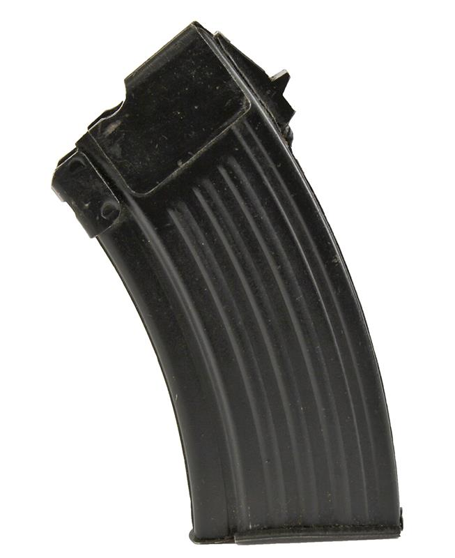 Magazine, 7.62x39, 10 Round, Single Stack, Blued (w/o Reinforcing Rib)