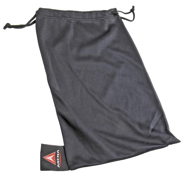 Arena Microfiber Bag, w/ Drawstring, Black