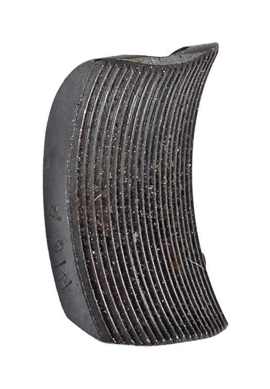Trigger Shoe, Stamped D5 P, Blued, Pacific Tool Co. Grand Island Nebraska