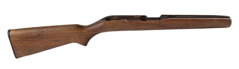 Stock, Walnut, w/ Buttplate (Takes Side Safety; Inletted for Trigger Guard)