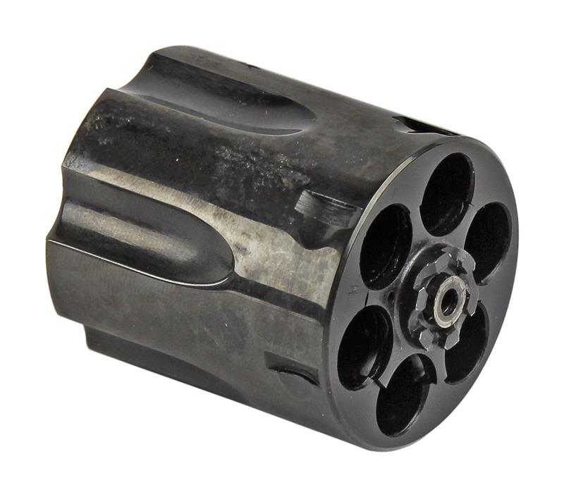 Cylinder, .357 Mag, 6 Shot, Male Threads, Blued w/Extractor