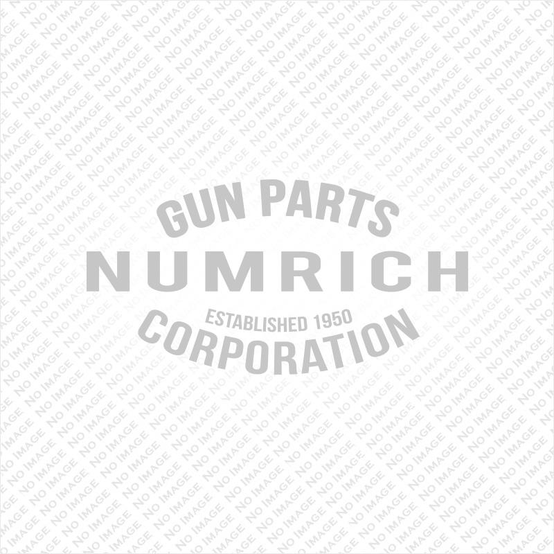 Grips, Round Butt, Service, Used Factory Original, Checkered Walnut