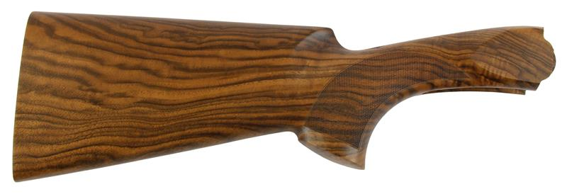 Stock, 12 Ga., RH, 35/55 Drop, Cut Ckrd Oil Finish Premium Walnut no Recoil Pad