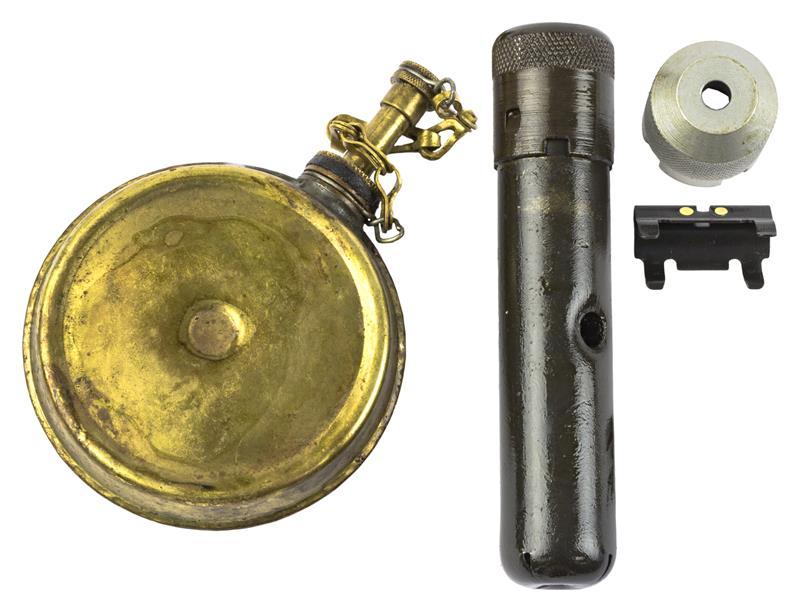 Accessory Kit w/Brass Oil Bottle,Blank Firing Device, Cleaning Kit & Night Sight