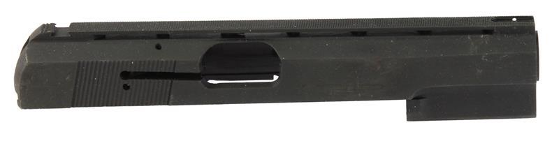 Slide, 9mm, Stripped, Vent Rib, Unmarked, Matte Black, New Factory Original