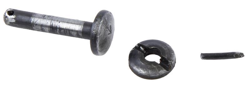 Rear Sight Hinge Pin & Nut, Used Factory Original