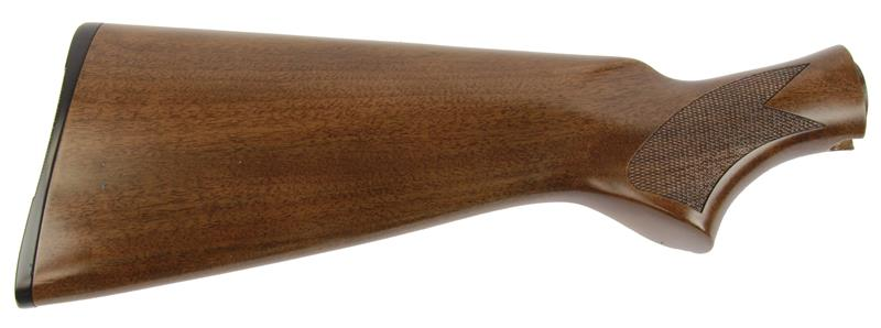 Stock, 12 Ga, Soft Gloss Finished Checkered Walnut w/Buttplate, New Reproduction