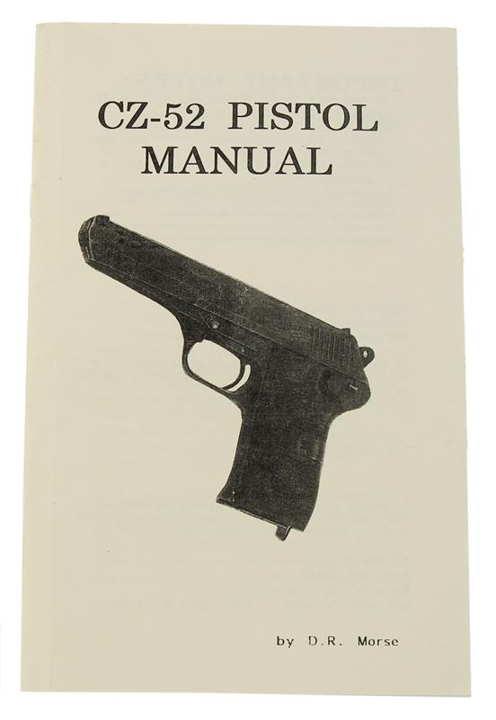 CZ 52 Pistol Manual
