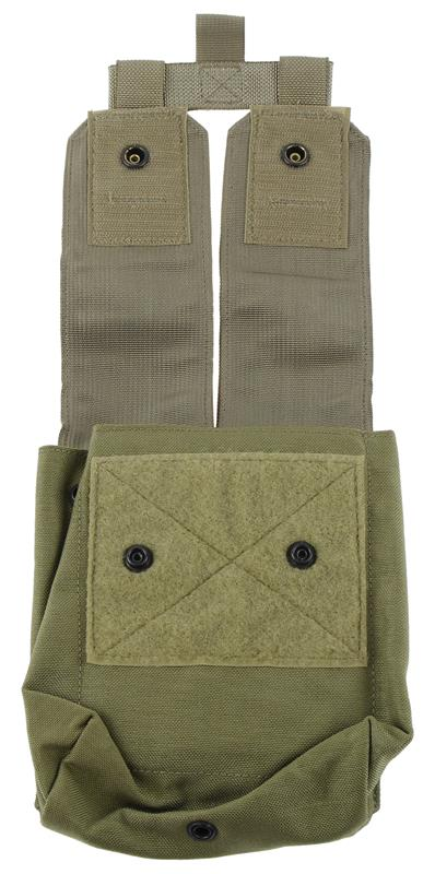 Ammo Pouch w/ Flaps, SAW, MOLLE, 200 Round, New (Models M-240/M249)