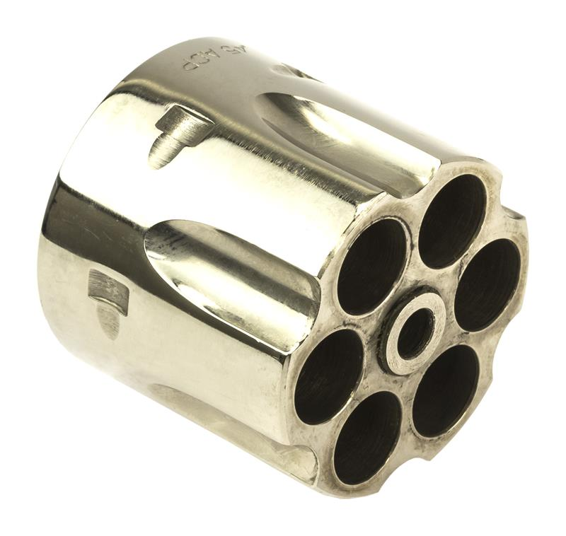 Cylinder, .45 ACP, 6 Shot, Nickel, New Reproduction