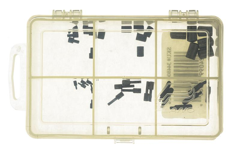 Plunger & Detent Assortment, Includes 6 Each of 6 Common Plungers & Detents