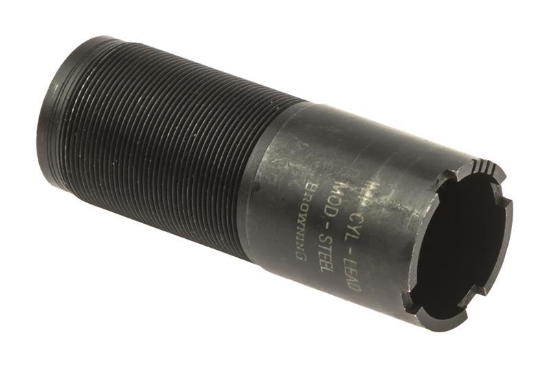 Choke Tube, 10 Ga., IC for Lead Shot, Mod. Choke for Steel, New Factory Orig