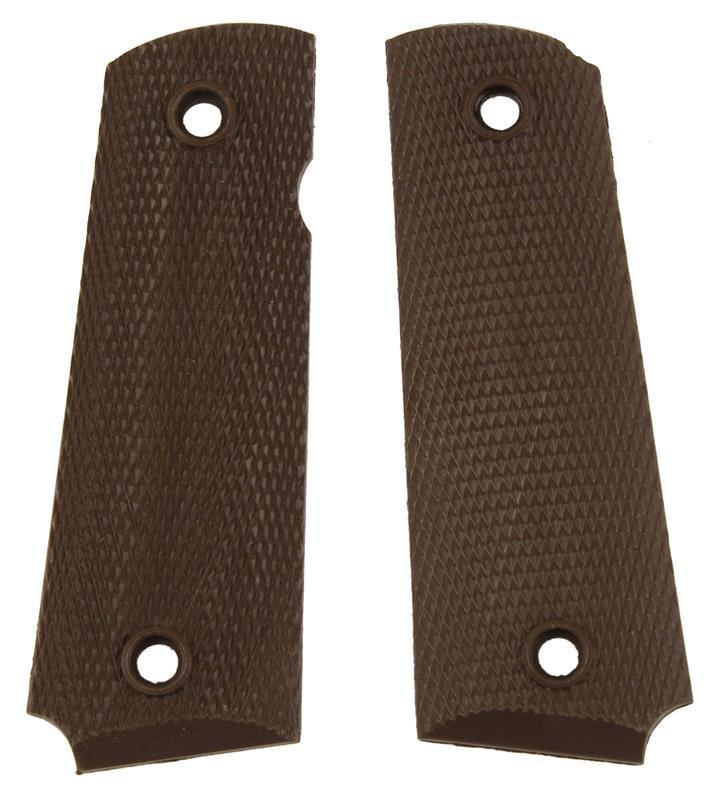 Grips, Brown Plastic, Used