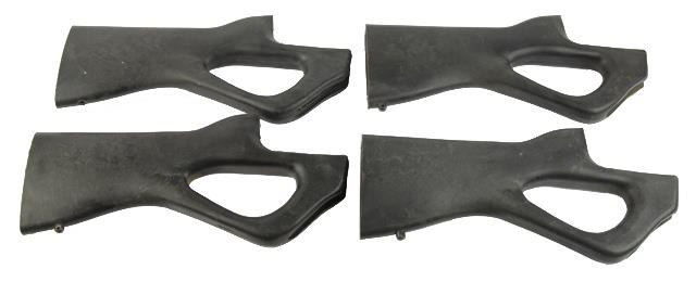 Stock, Thumbhole, Black Synthetic, Used (w/ Buttplate; Aftermarket)