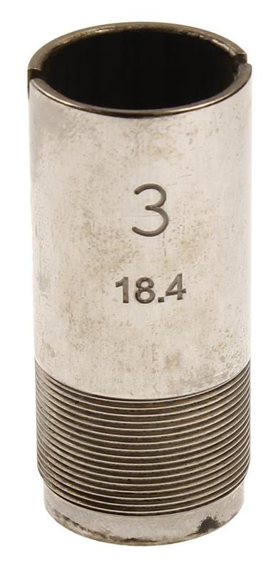 Choke Tube, 12 Ga, 46mm/18.4mm, #3, Flush
