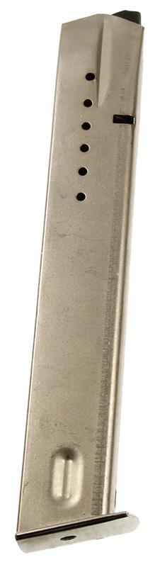 Magazine, 9mm, 30 Round, Stainless, New (w/ Flat Metal Floorplate; U.S.A. Brand)