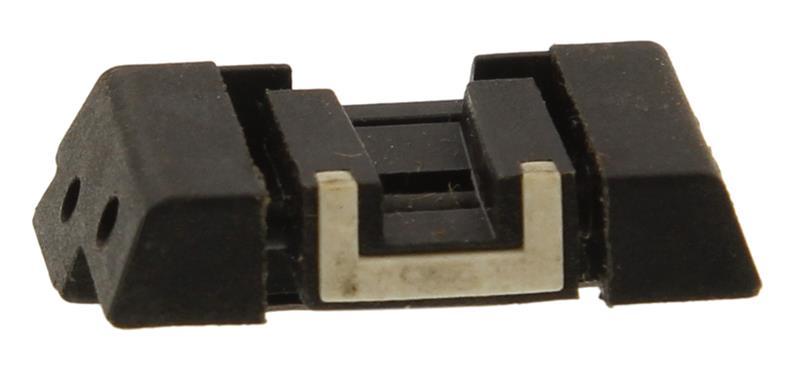 Rear Sight, Adjustable, Black Polymer w/o Adjusting Tool, Used Factory