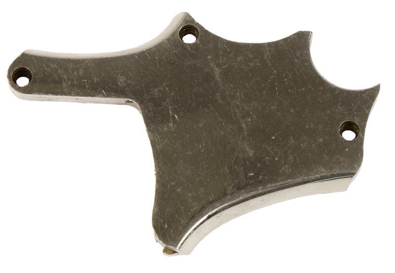 Sideplate, Nickel, Aluminum, Used Factory Original