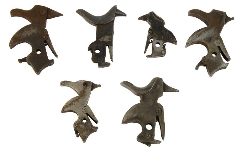 Hammers, Bag of 6, Various Spanish Revolver, Random Selection, Sold As Is