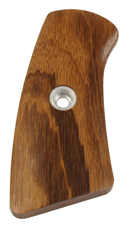 Grip Panel Insert, Right, Wood, Used Factory Original