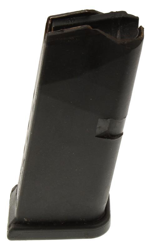 Magazine, .40 Cal, 9 Round, Black Polymer, Used (Factory)