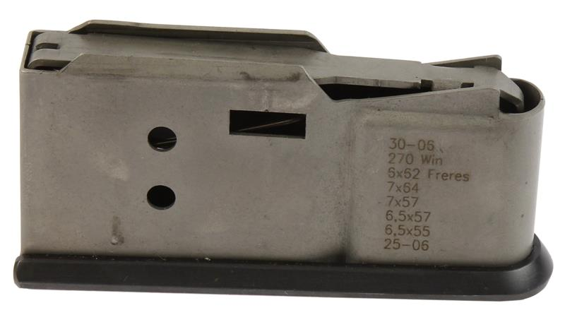 Magazine, .270, .30-06, .25-06, Standard Long Action, 3 Round, Stainless, Used