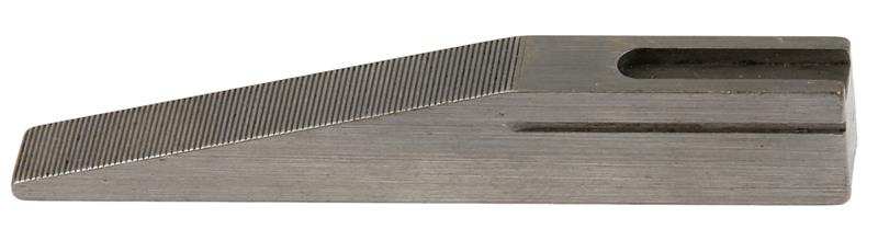 Front Sight Ramp, 11.5mm High, Serrated, Slotted for Hood, In the White