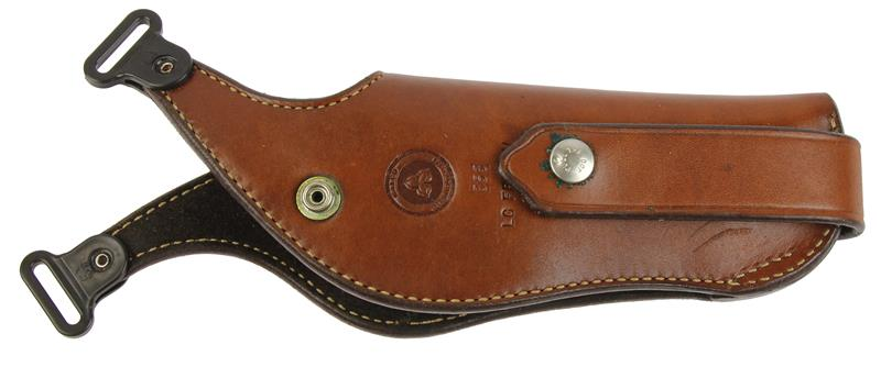 Holster, LH, Model BGH, Brown Leather, New (For 4