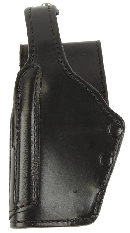 Holster, LH, Astro Double Retention, Black Leather, New (Gould & Goodrich)