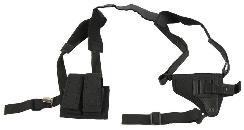 Sidewinder Shoulder Rig, Ambidextrous, Fits Small Revolvers, Black Nylon, New Desantis