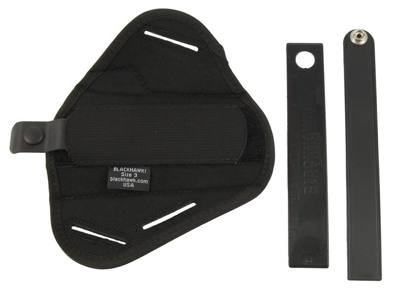 Holster, Ambidextrous, Pancake, Black Nylon, New (Blackhawk Mfg)