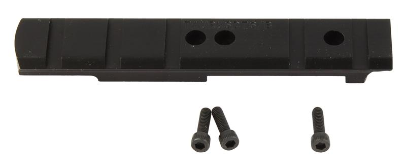 Scope Mount Base, Blued, New Weigand Combat Mfg.- For Small Top Strap Radius Revolvers