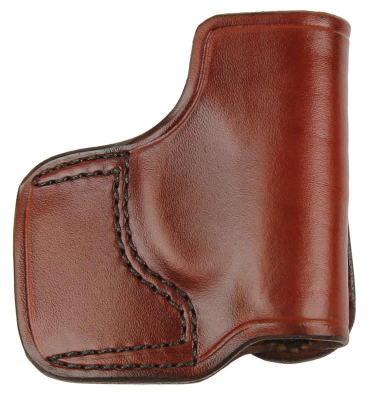 Holster, RH, Seacamp, Slide, J.I.T. # 78, Reddish Brown Leather, New (Don Hume)