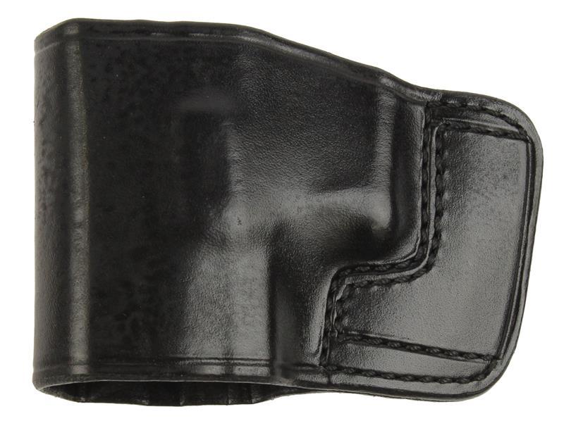 Holster, LH, Slide, J.I.T., Black Leather, New (Don Hume Mfg)