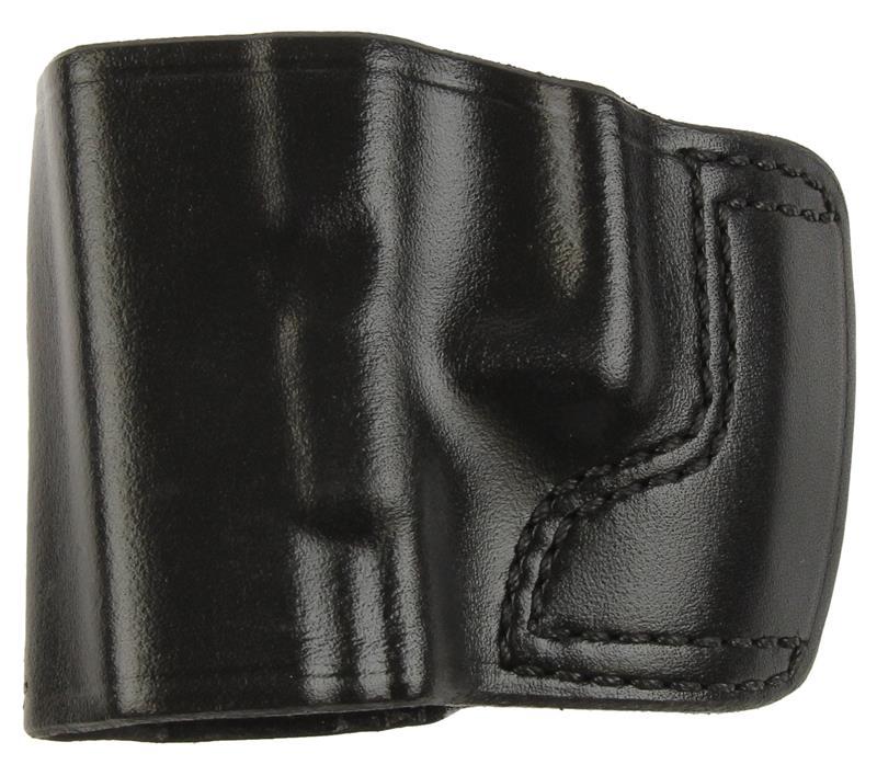 Holster, LH, Slide, J.I.T. # 41, Reddish Brown Leather, New (Don Hume Mfg)