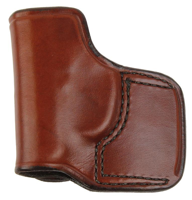 Holster, LH, Seacamp, Slide, J.I.T. # 78, Reddish Brown Leather, New (Don Hume)