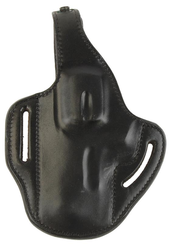 Holster, LH, Pancake, High Jak, Black Leather, New (For 2-1/2