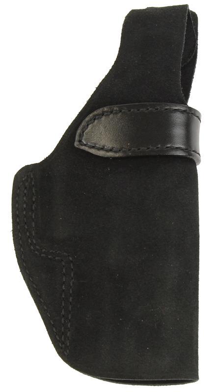 Holster, RH, Belt, Wraith, Thumbbreak, Black Suede Leather, New (Galco)