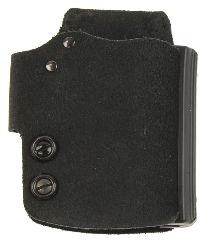 Holster, RH, Belt, Blakguard, Black Suede / Synthetic, New (Galco)