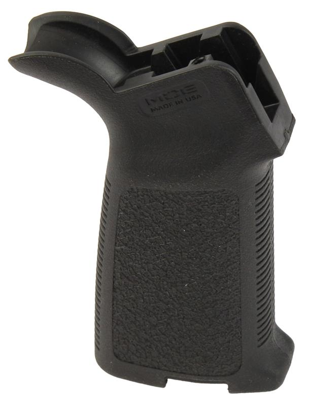 Pistol Grip, Basic Black Textured, Serrated Straps w/o Storage Compartment Door, Used MagPul