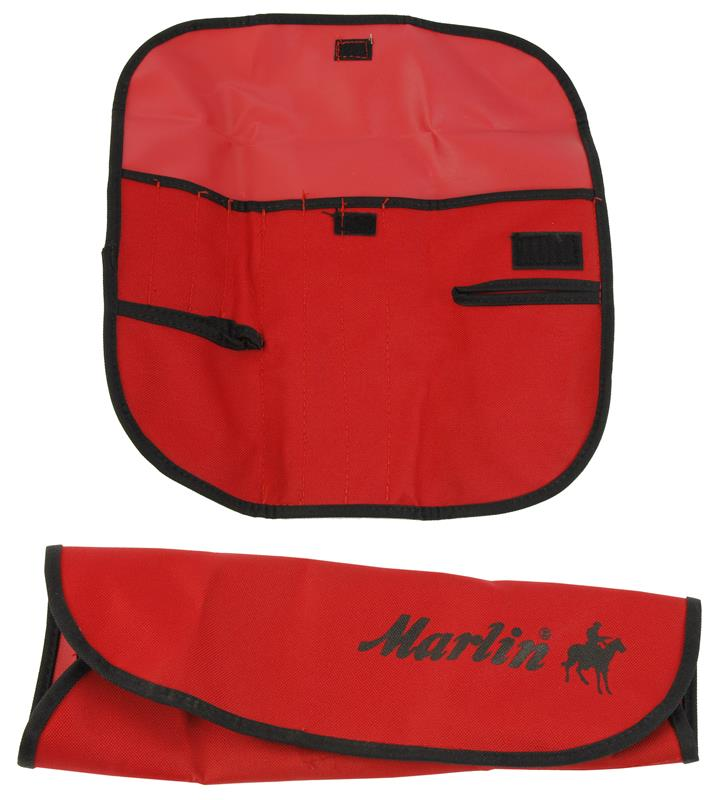 Cleaning Tool Accessory Pouch, Marked Marlin, Red w/Black Trim, New Allen