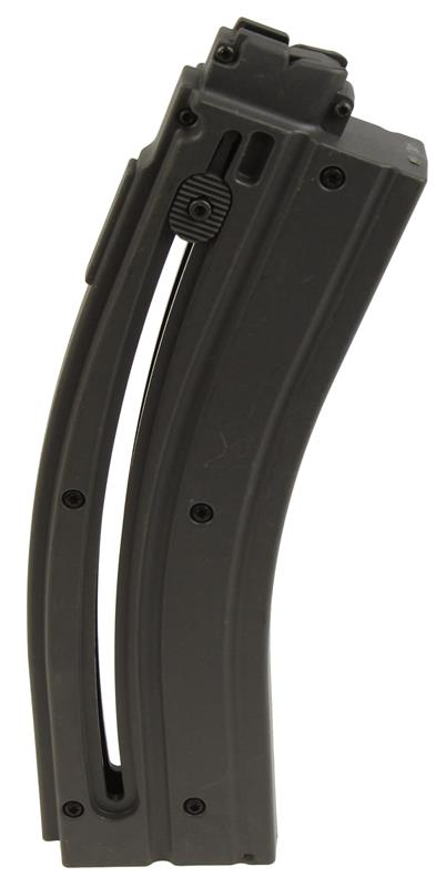 Magazine, .22 LR, 30 Round, Grey Polymer, New Factory