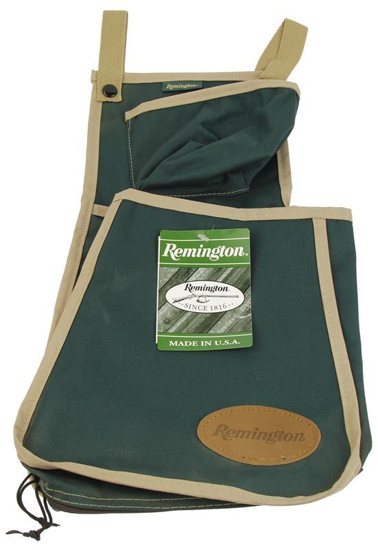 Shell & Game Bag, Green w/Tan Trim, New Remington