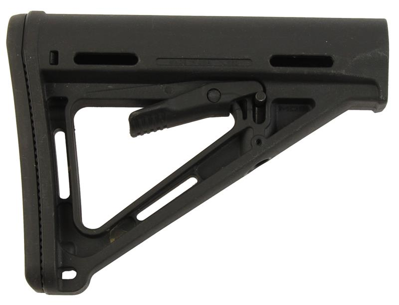 MOE Collapsible Stock, Black Synthetic, Used Magpul
