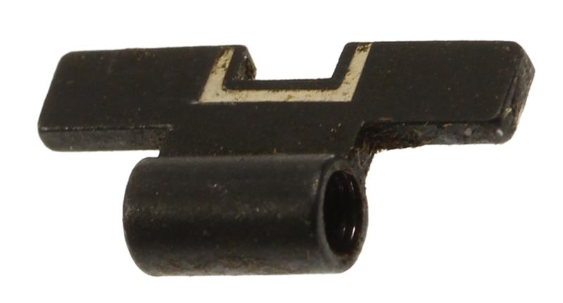 Rear Sight Slide, White Outline (.126), Used Factory